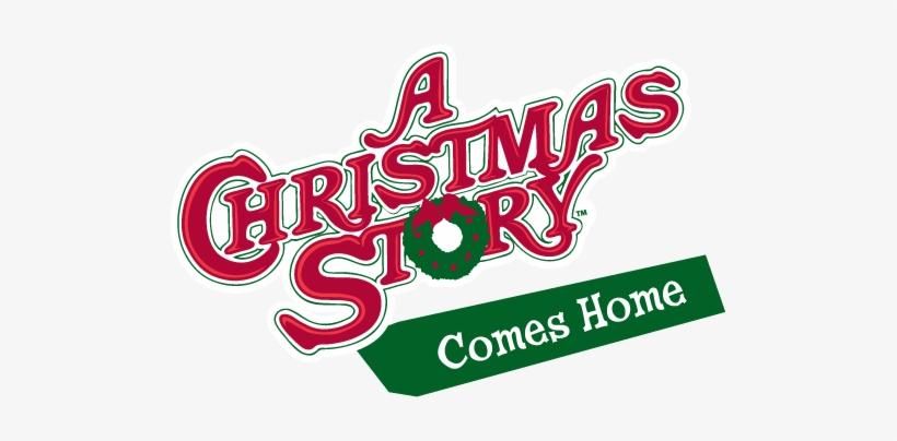 A Christmas Story Comes Home Logo Christmas Story Leg Lamp