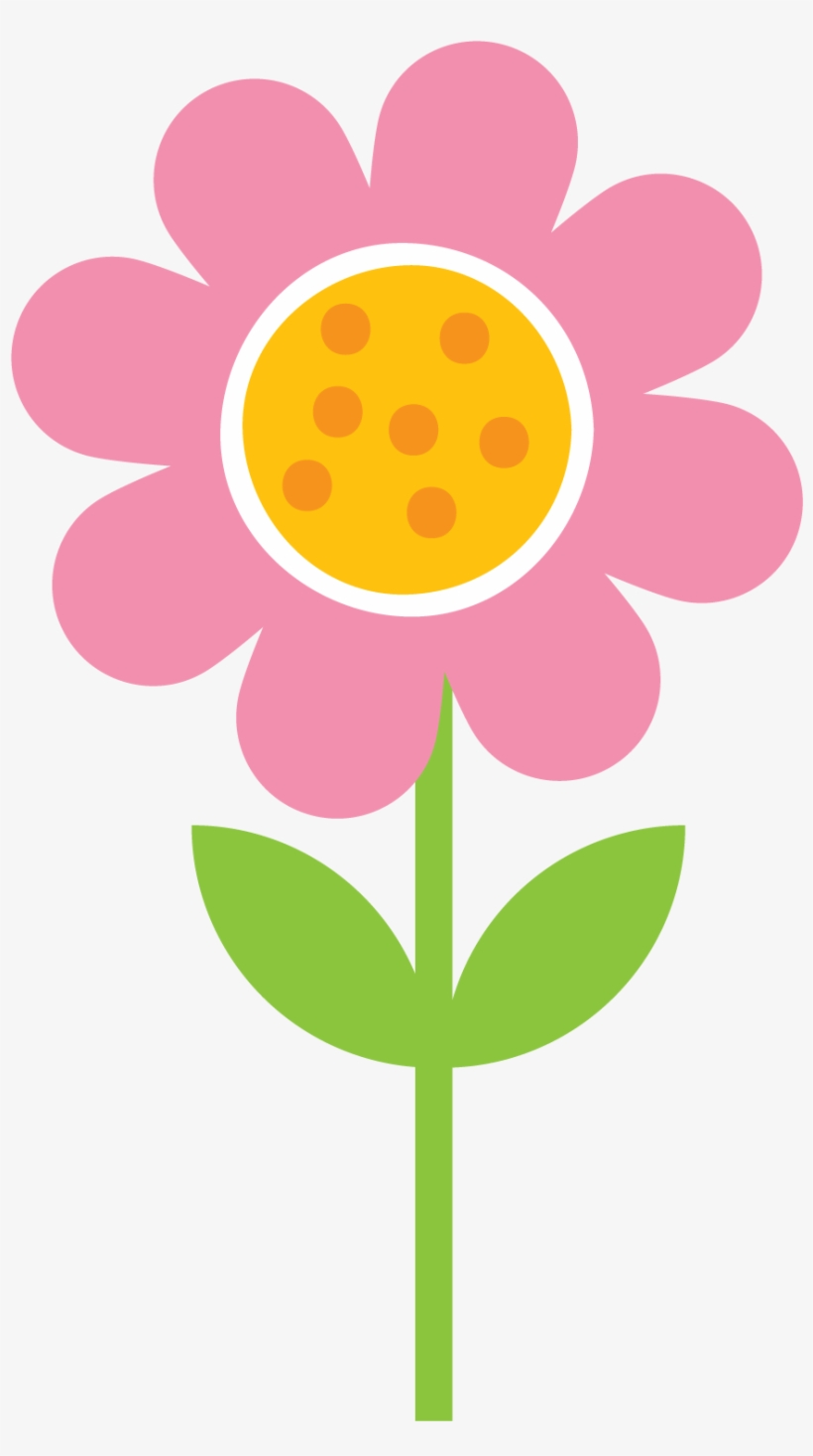 Flower Clipart Drawing Flower Dibujo Flores De Primavera Clip Art
