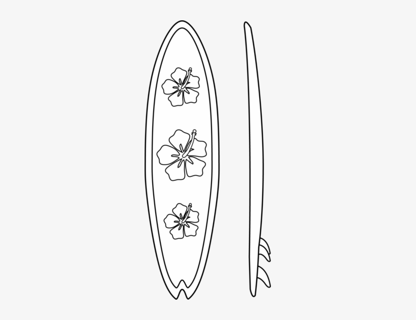 Clipart Royalty Free Stock Surf Board Pages Surfboards Surfboard Coloring Page Transparent Png 249x550 Free Download On Nicepng