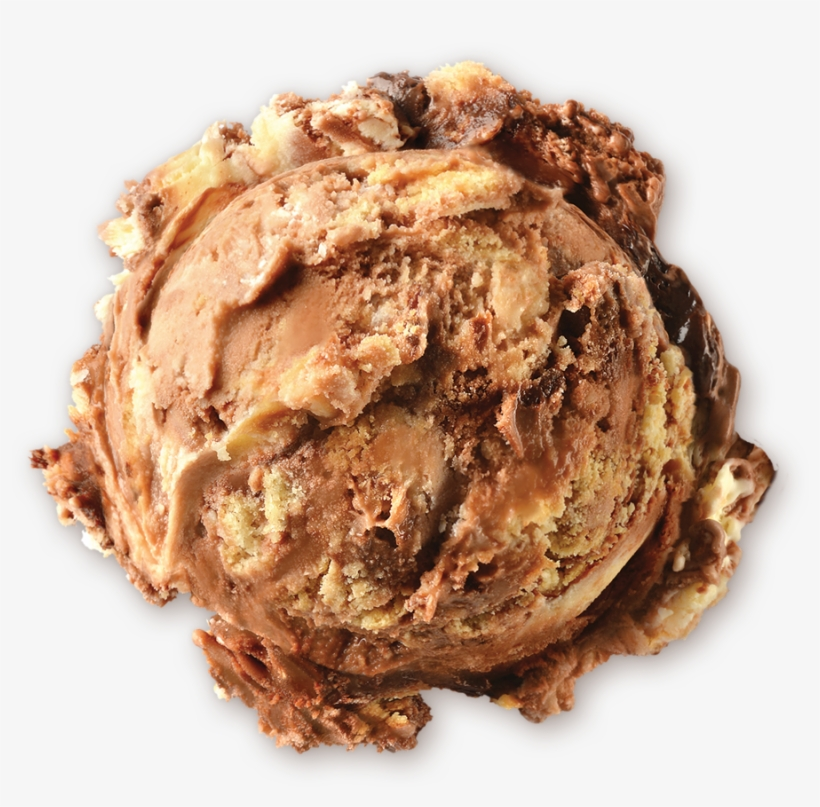 Homemade Brand Twisted Cookies N Cream Ice Cream Scoop - Ice Cream