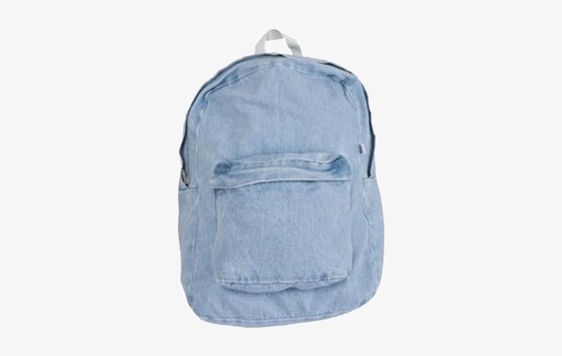 Itgirl Shop Vintage Denim School Bag Aesthetic Apparel 4169915cf