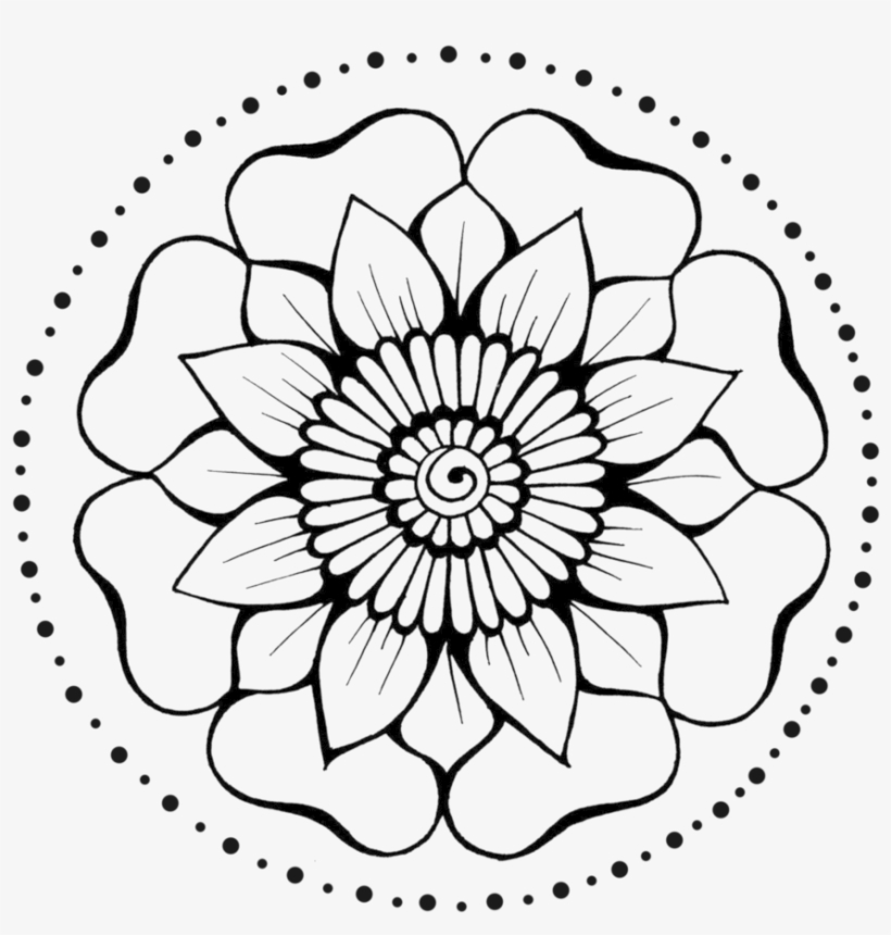 Henna Flower 5 By Teenu Stock On Deviantart Free Download Henna
