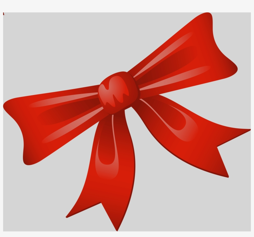 Christmas Bow Vector Png Transparent Png 2786x2469 Free Download