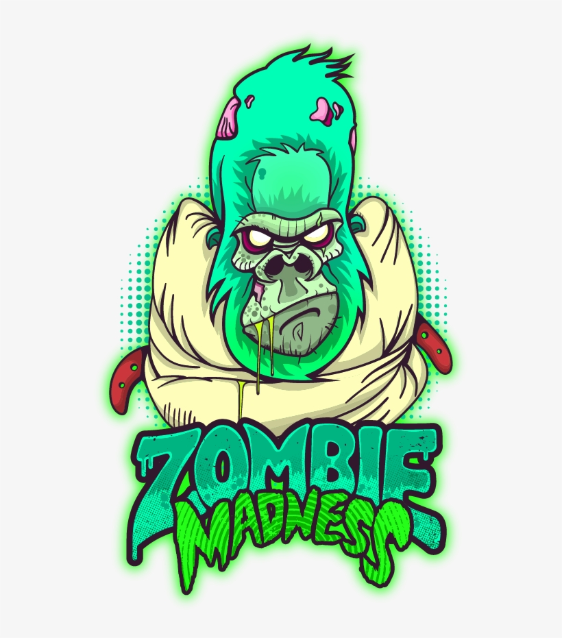 Zombie Madness On Behance Gambar Kartun Zombie Keren Transparent Png 600x859 Free Download On Nicepng