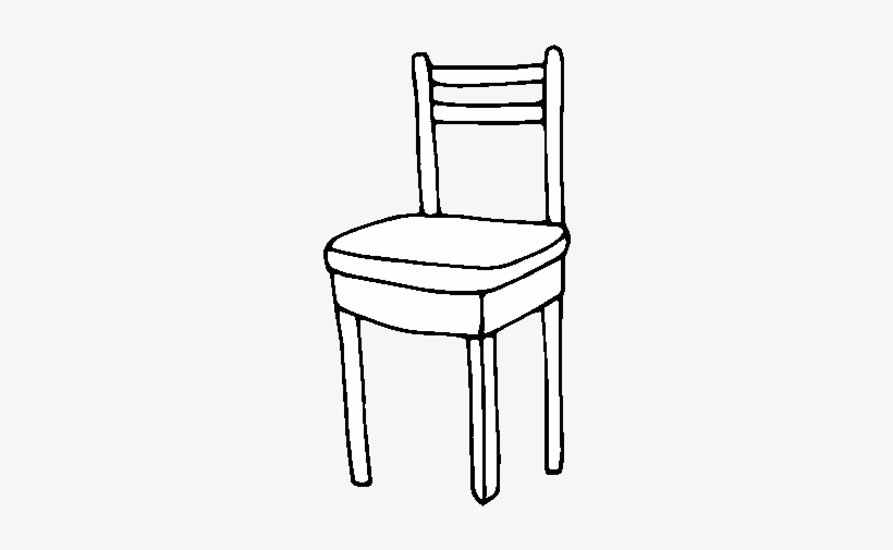 Dibujo De Silla De Comedor Para Colorear Desenho De Cadeira Para