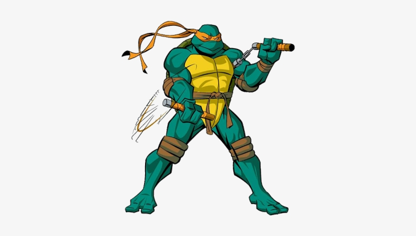 Ninja Turtles Clipart Michelangelo Ninja Turtles Michelangelo