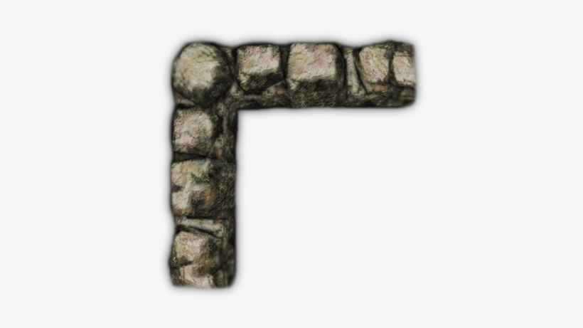 Wall Corner Dotw Gt - Rpg Map Stone Wall Transparent PNG - 484x429 ...