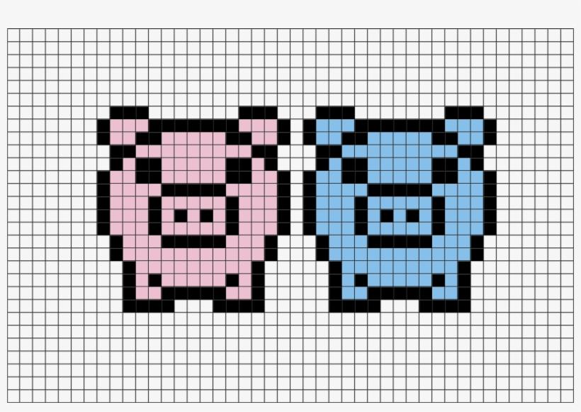 Easy Pixel Art Pig Transparent Png 880x581 Free Download On Nicepng