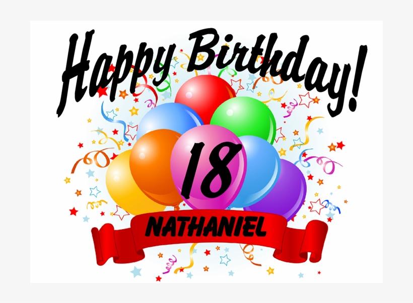 Happy 18th Birthday Happy 2 Months Birthday Transparent Png
