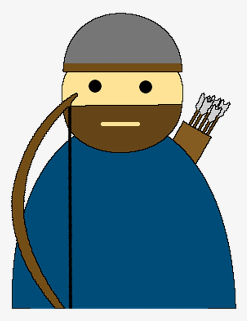 Norse Bondi Archer Cartoon Transparent Png 813x1000 Free