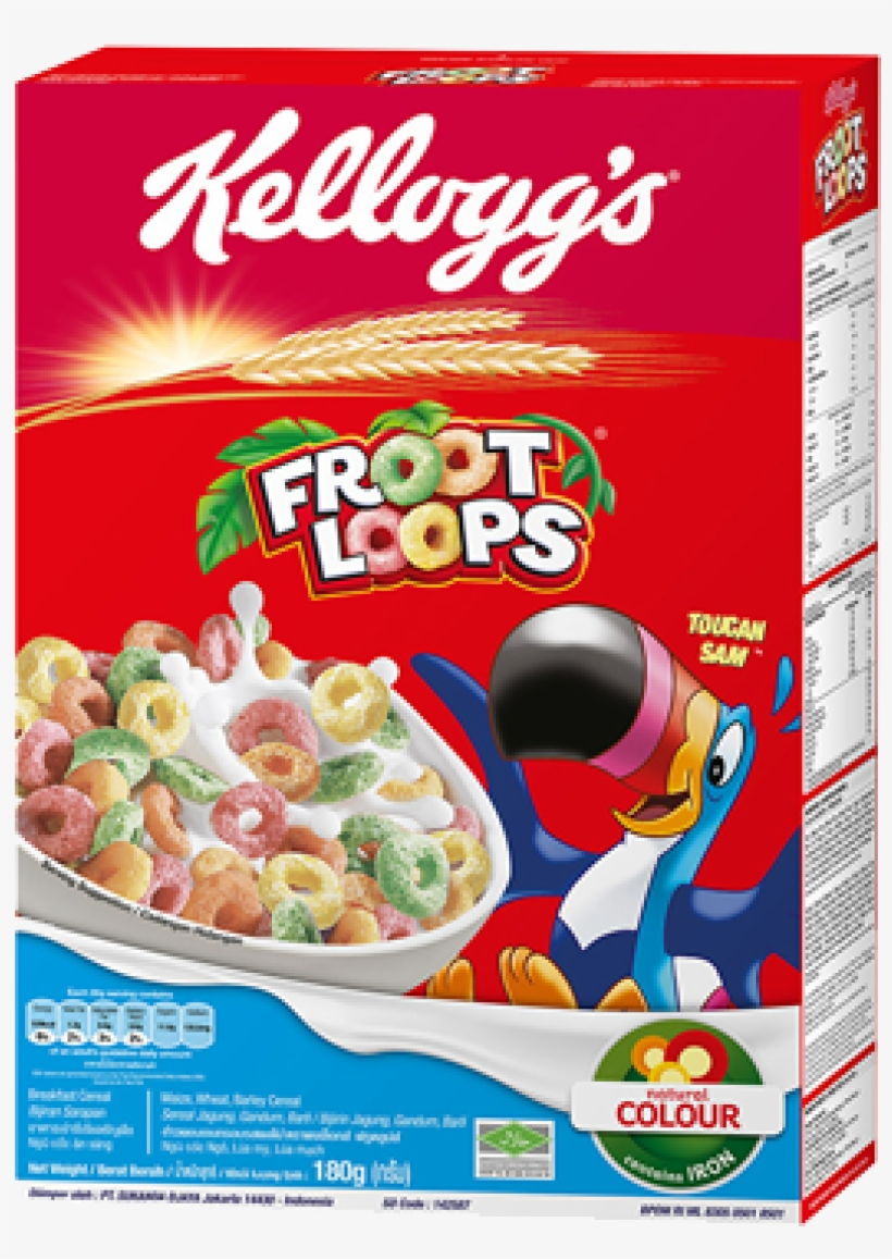 Froot Loops 350g Transparent PNG