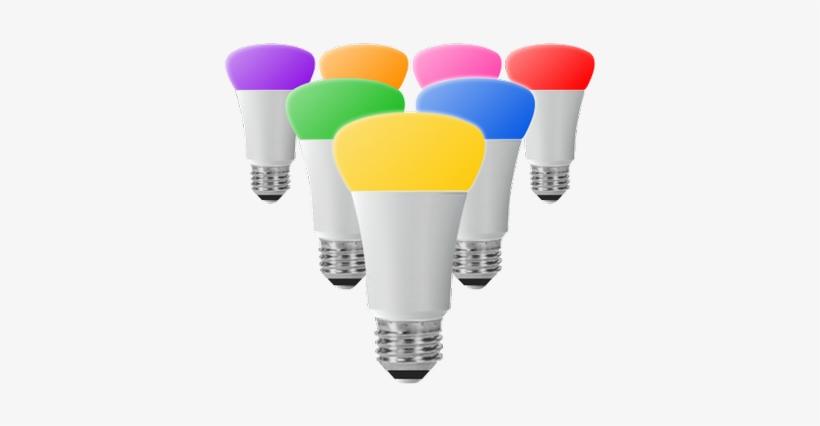 Hue Lights - Philips Hue Led Smart Light Bulb - E27 Transparent PNG