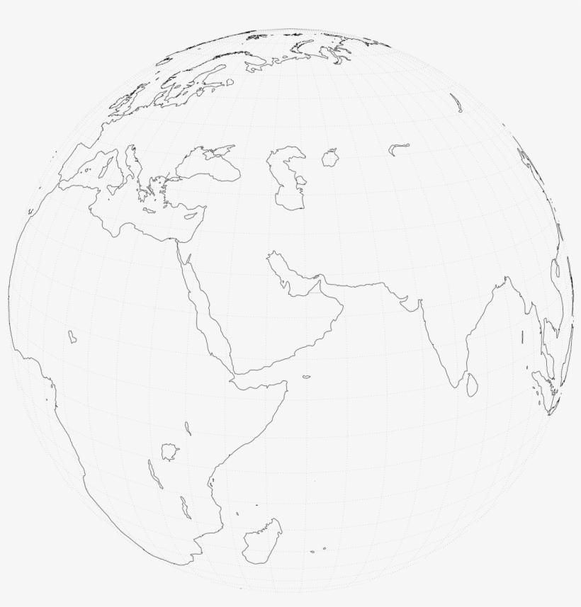 How To Draw A Map Of The World - World Transparent PNG ...