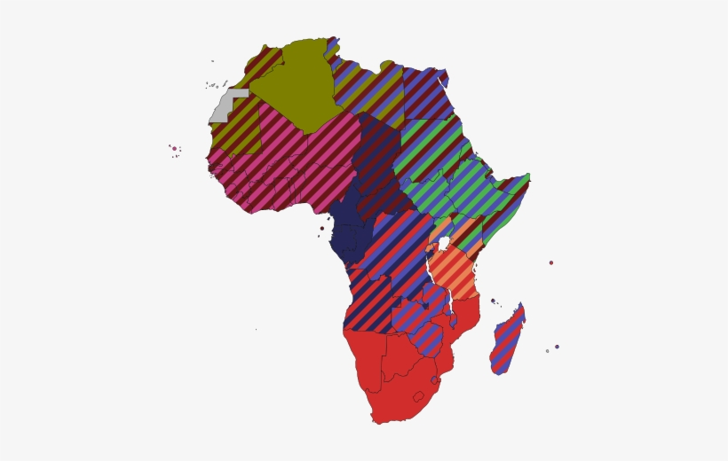 African Union Map.Map Of The African Economic Community African Union Transparent