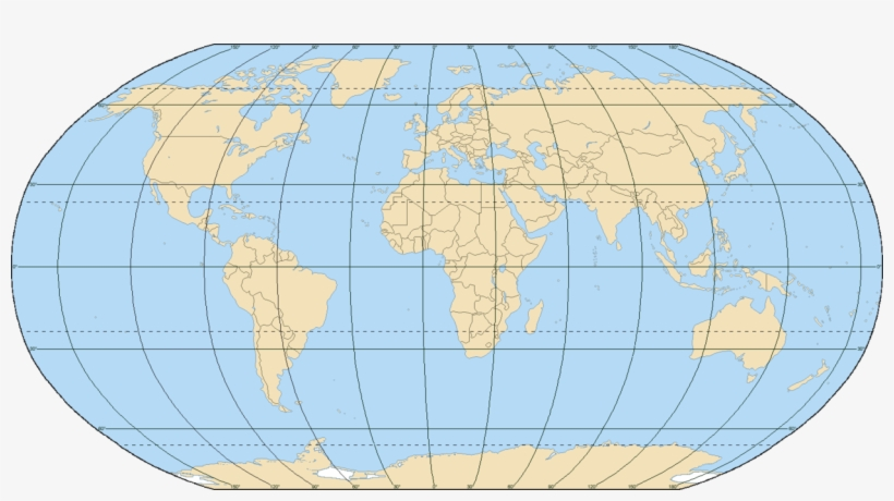 Png For World Map With Equator And Prime Meridian - Earth ...