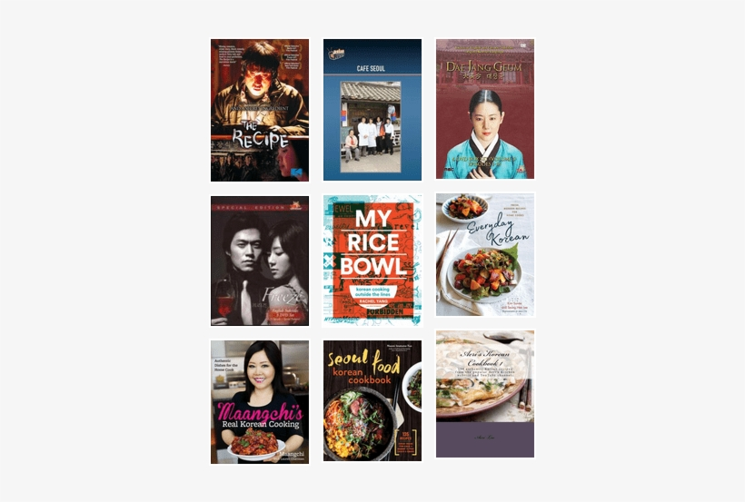 Movies And Books For Korean Food Lovers - My Rice Bowl By