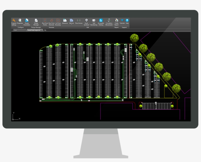 The Cad Software For Parking Design Projects Of Any - Page