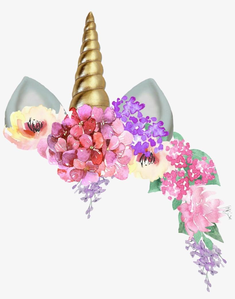 Unicorncrown Unicorn Unicornio Corona Flores Flowers Unicornio