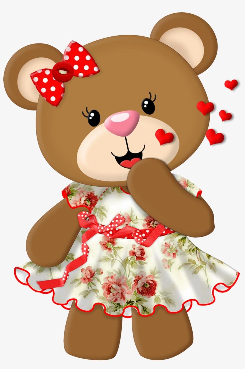 Tubes Ursinhos Desenhos De Ursinhos Coloridos Para Imprimir