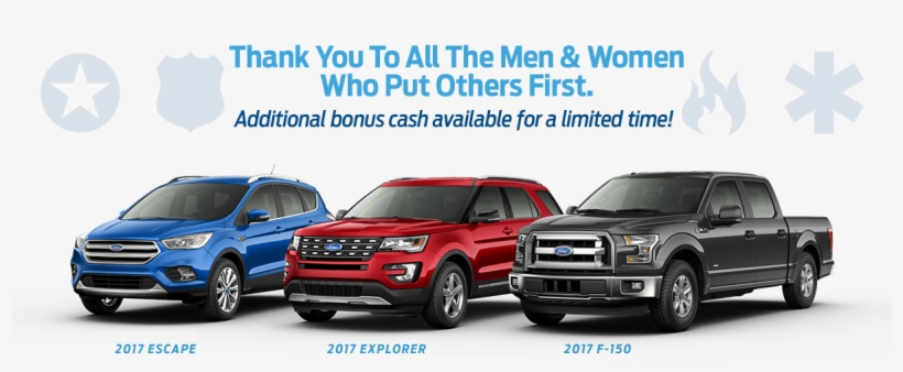 Ford First Responder >> Ford 1st Responder And Military Discount Ford Rebates For