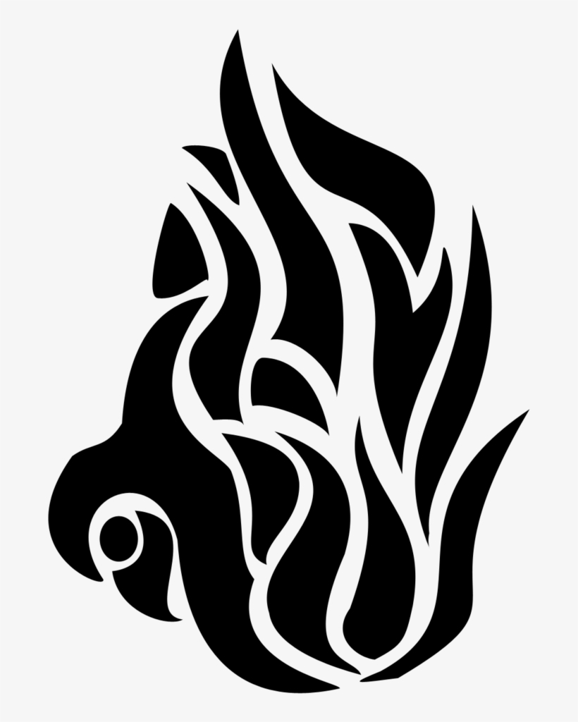 e7adc0f71966f Tattoo By Maybyaghost On Deviantart - Flame Tribal Tattoos Png ...