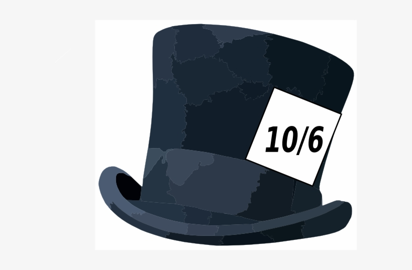 Small Mad Hatter Hat Clip Art Transparent Png 600x458 Free Download On Nicepng