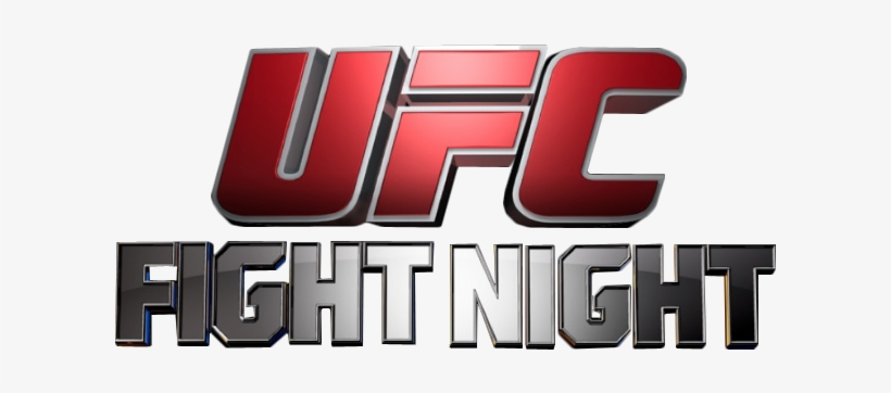 Ufc Fight Night Logo By Kungfufrogmma D7x0ptm Ufc Fight Night Logo Png Transparent Png 640x300 Free Download On Nicepng