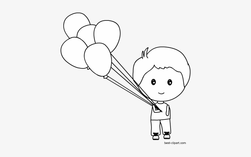 Svg Library Library Black And White Balloons Clipart - Balloon