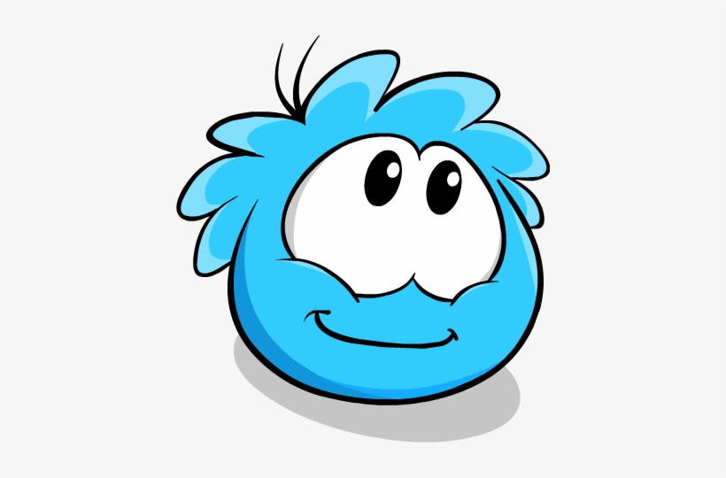 1be50851d0052 Blue Puffle Looking Up - Club Penguin Puffles Png Transparent PNG ...