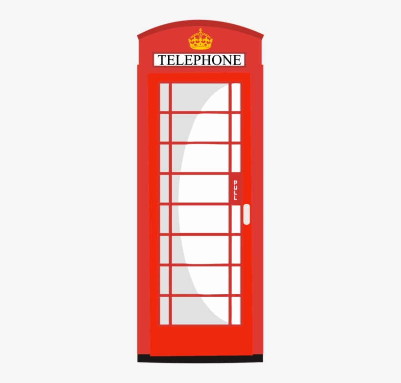 Download London Telephone Box Vector Clipart Red Telephone Telephone Box Vector Png Transparent Png 260x702 Free Download On Nicepng