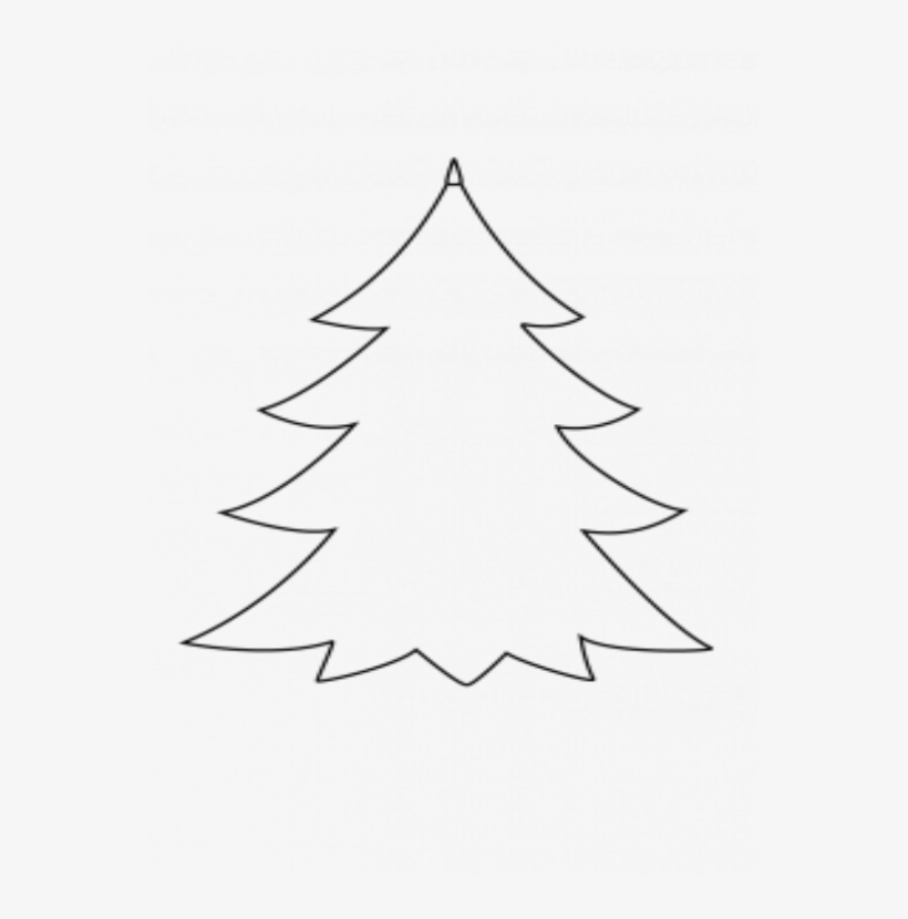 28 Collection Of Xmas Tree Drawing Simple Spruce Tree Drawing Easy