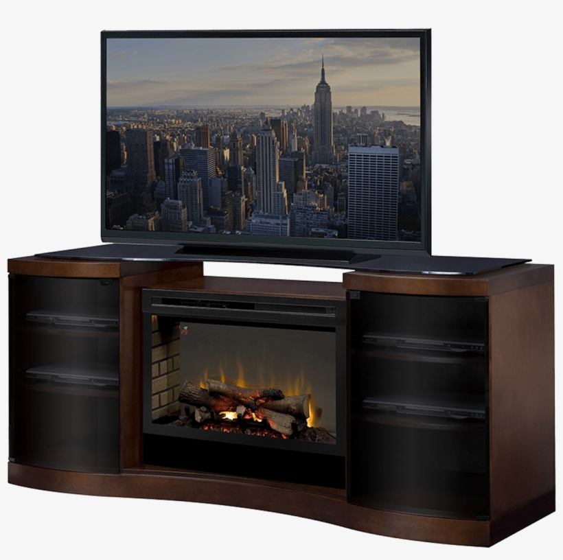 Dimplex Acton Electric Fireplace Entertainment Center New York