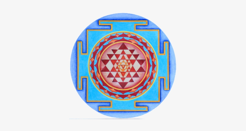 Welcome - Sri Yantra Black And White Transparent PNG
