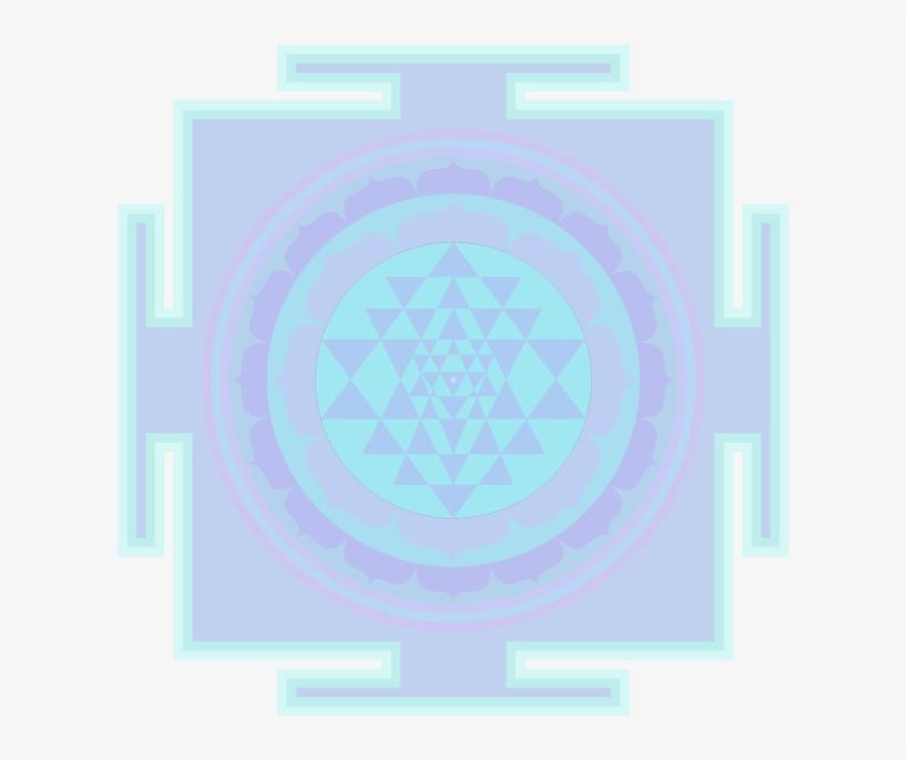 Sriyantra-francie - Sri Yantra Transparent PNG - 608x608