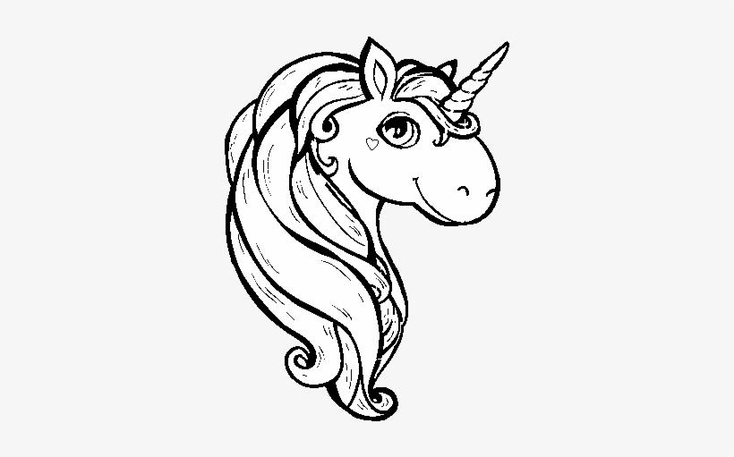 Dibujo De Un Unicornio Para Colorear Dibujos Unicornios Para