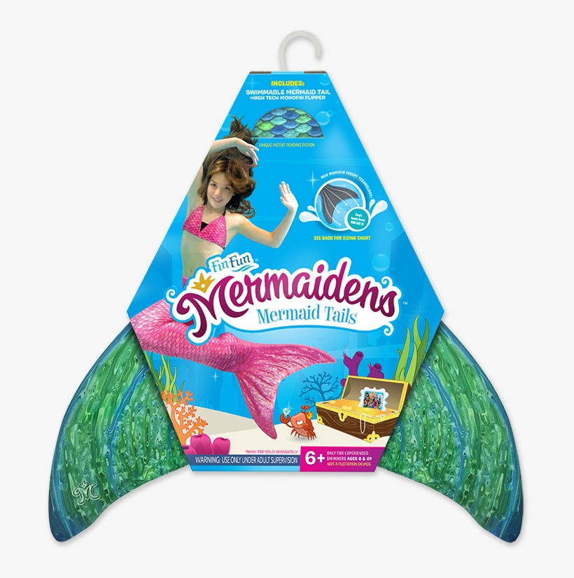 We Now Sell Fin Fun Mermaid Tails - Mermaid Tail Packaging