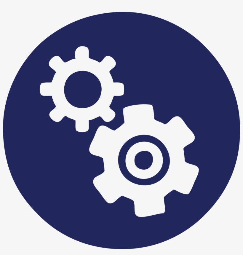 Gears-1024x1024 - People Process Technology Logo Transparent PNG