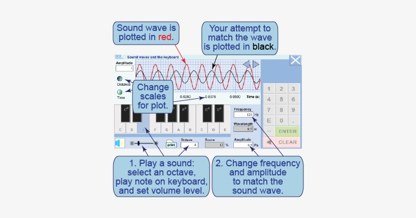 How To Use The Keyboard Sound Simulation - Sound Transparent PNG