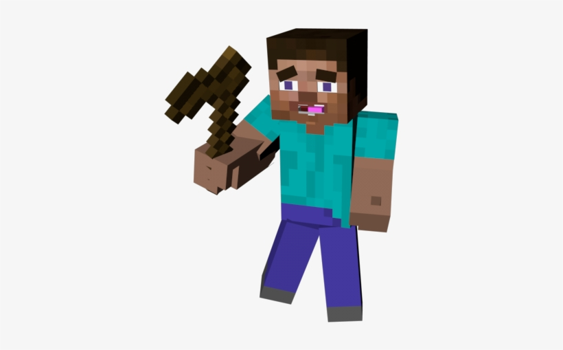 Minecraft Steve 3d Png Transparent Png 800x600 Free Download