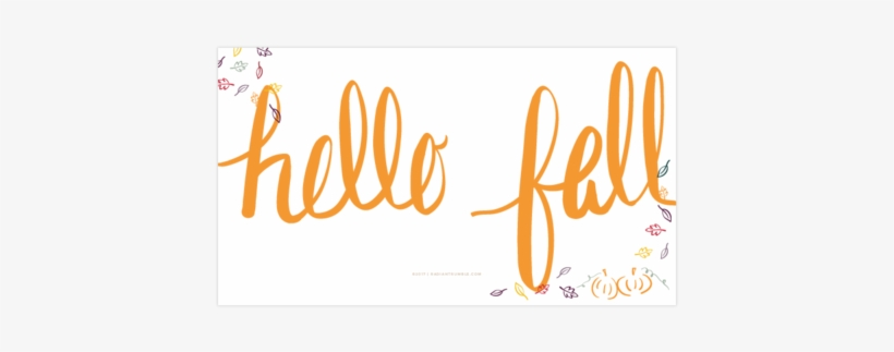 Hello Fall Free Wallpaper For Phone And Desktop Shop Transparent Hello Autumn Png Transparent Png 480x480 Free Download On Nicepng