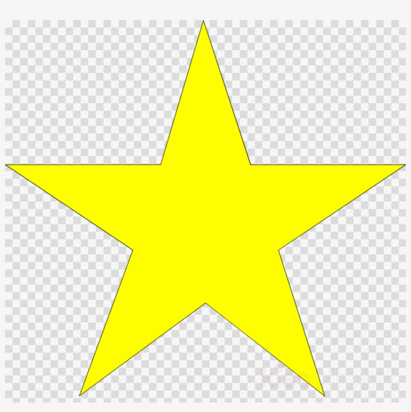 Star clear background. Yellow transparent clipart desktop