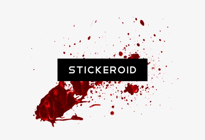 Blood Hd - Blood Splatter 1 Throw Blanket Transparent PNG