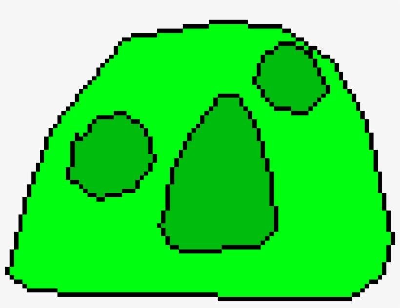 Slime Model Pixelated Pixel Art Planets Transparent Png