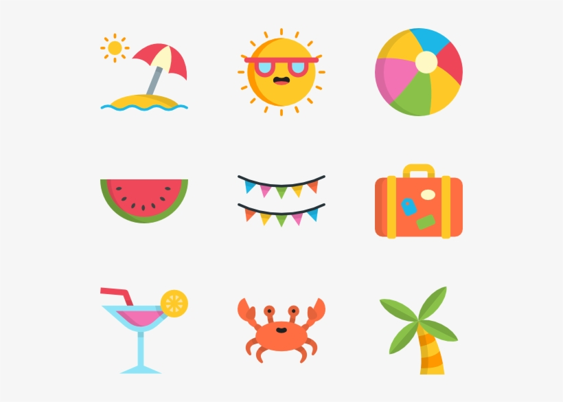 download here summer icons transparent transparent png 600x564 free download on nicepng download here summer icons