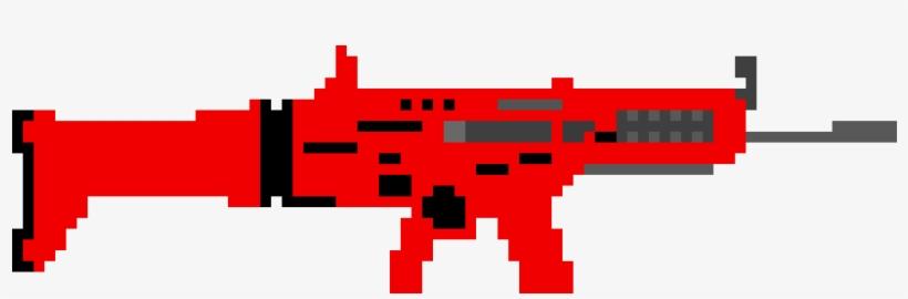 Scar Fortnite Pixel Art Fortnite Skin Transparent Png