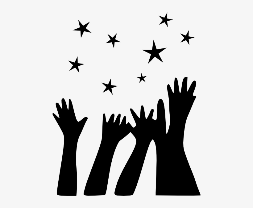 Hand Up Reaching For Stars Clipart - Clipart Reach For The Stars  Transparent PNG - 480x594 - Free Download on NicePNG