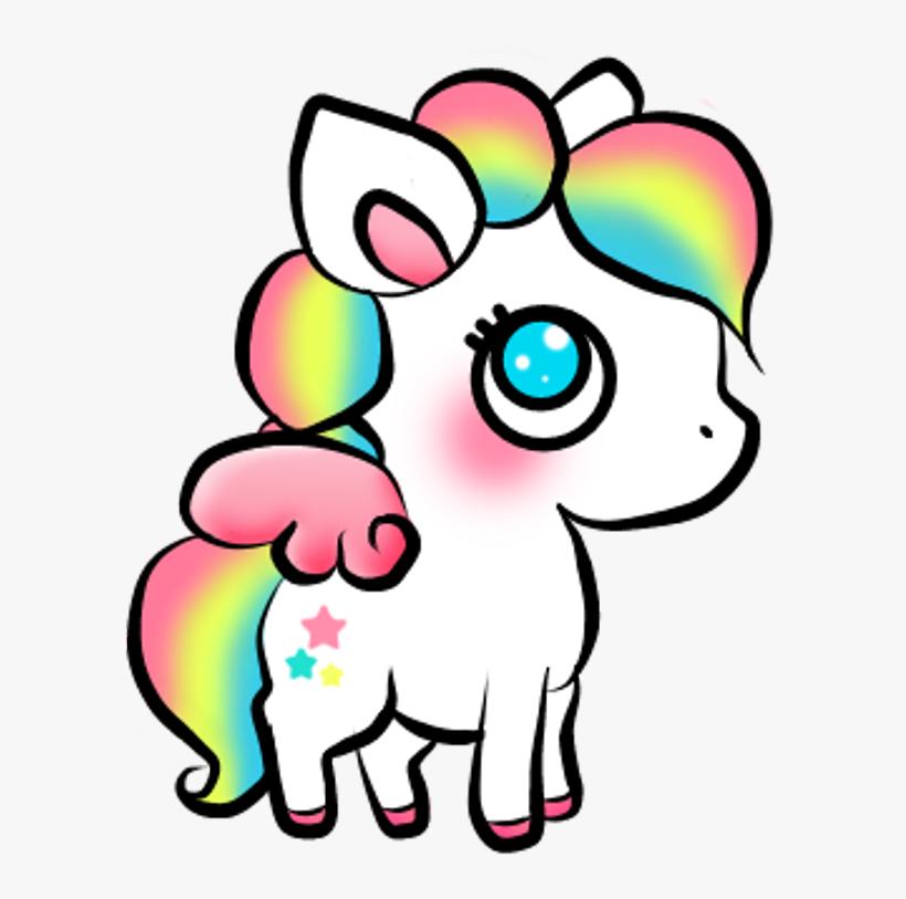 Kawaii Unicorn Sticker Stickers Cute Colors Picture Funny Unicorn