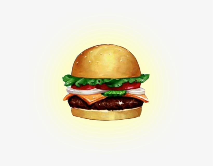 Hamburgers Clipart Grilled Burger - Krabby Patty Transparent