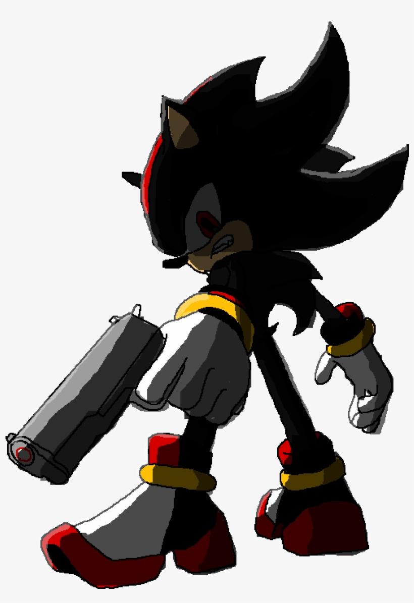 Shadow The Shady Hedgehog Sonic In Shadow Transparent Png 1000x1400 Free Download On Nicepng