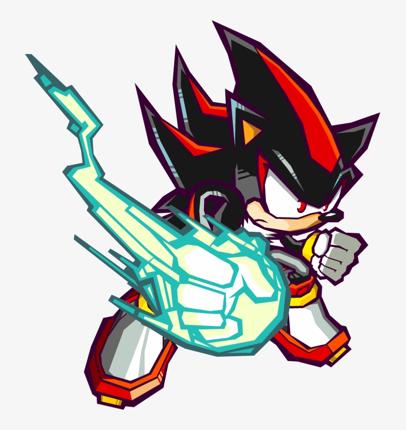 Official Artwork 1 Shadow The Hedgehog Sonic Battle Transparent Png 719x788 Free Download On Nicepng